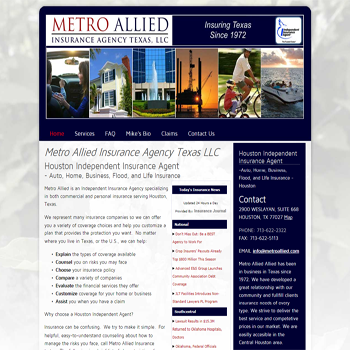 Metro Allied Insurance Agency Texas LLC